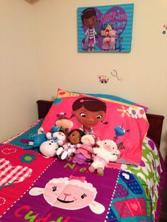 Doc McStuffins Bedding, Doll And Characters