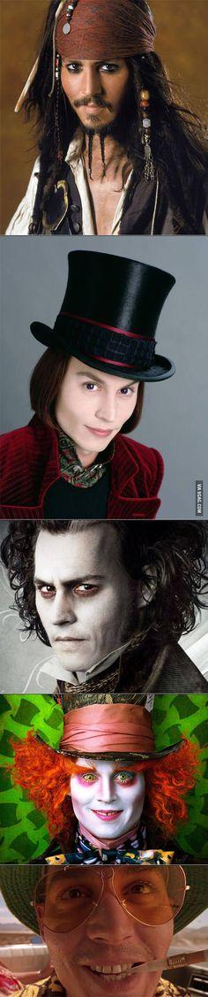 Mr. Depp as genius ;)