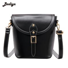 e58bdb935ff Luxury 2017 PU Leather Ladies Bag Bucket Bag Designer Handbags High Quality Women  Bags Adjustable Strap
