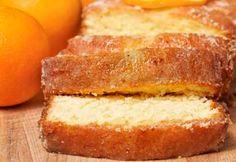 Gâteau à l'orange, à l'érable et aux noix de Grenoble