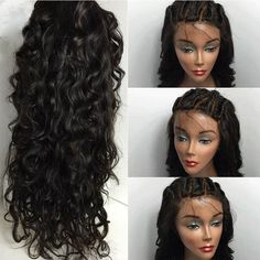I found some amazing stuff, open it to learn more! Don't wait:https://m.dhgate.com/product/top-quality-8a-water-wave-full-lace-wigs/376124782.html