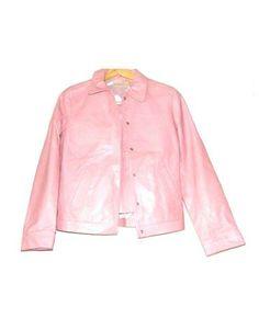 Traje chaqueta y falda rosa de Massimo Dutti
