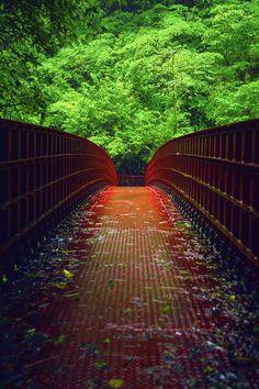 Red Bridge, Taoyuan City,Taiwan