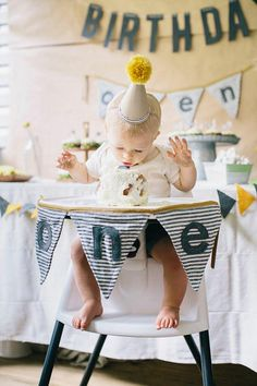 Simple, modern first birthday for Owen from Shannon Michele Photography 100 Layer Cakelet Baby Boy First Birthday, Birthday Bash, First Birthday Parties, Simple 1st Birthday Party Boy, 1st Birthday Party Ideas For Boys, First Birthday Crown, 1st Birthdays, Baby Party, Birthday Photos