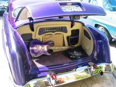 @thepurplestore I think this is the same car.   Note purple guitar in the trunk!