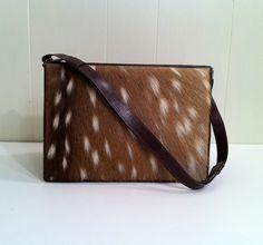 Deer fur purse  Never needed something more.