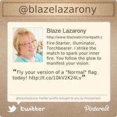@blazelazarony's Twitter profile courtesy of @Pinstamatic (http://pinstamatic.com)