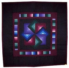 love the deep tones of amish quilts