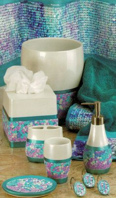 black mother of pearl shell bathroom set things for the home pinterest powder room vanity powder room and vanity set