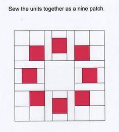 Circle of Squares Block