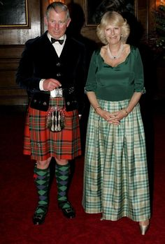 "The Duchess of Cornwall Blog on Twitter: ""Prince Charles in kilt and Camilla in Roy Allen Lord of the Isles tartan dress, 2008.  📸 Pinterest… """