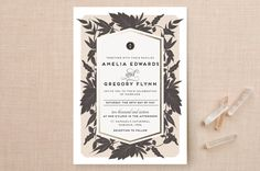 Sophisticated Floral by Carolyn Nicks at minted.com