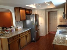 Recently remodeled with granite counters and warm colors throughout.