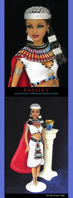 pashet egyptian barbie repaint