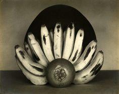 Edward Weston (American, 1886 – 1958)  'Bananas and Orange'  April 1927