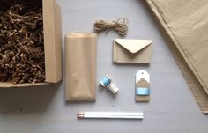 gift wrapping kit pieces