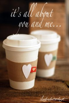 Message of love: hot cocoa bar for valentine's day!