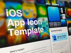 Free PSD Files New App Icon Template