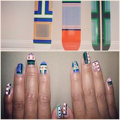 Celine Nails | Stop It Right Now | Jessica Tong Nail Design | Nail Art