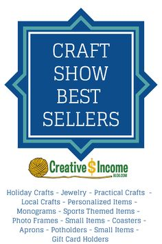 Craft Show Best Sellers - good to know, lots of ideas