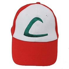 Pokemon Ash Ketchum Baseball Snapback Cap Trainer Hat for Adult Embroidered, Adjustable, Red: Pokemon Ash Ketchum Cap Embroidered Hat One Size. One size fit All, because it has the snapback which is adjustable to many sizes. Pokemon Ash Ketchum, Ash Pokemon, Ash Ketchum Kostüm, Pokemon Hat, Pokemon Pocket, Nintendo Pokemon, Pokemon Cosplay, Pikachu, Anime Cosplay
