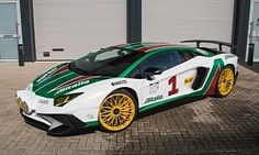 Lamborghini Aventador SV Does Alitalia Rally Car Cosplay with Yellow Lights :  One month ago today we  brought  you a Dodge Challenger Hellcat that though it was a Lancia Stratos rally car. Well here we are bringing you a similar stunt. It's just that this time around the cosplayer we're here to show you is a Lamborghini Aventador the freaking Superveloce kind.   4 photos  As motorsport aficionados know the Alitalia livery was made famous by the Lancia Stratos rally car and seeing this 750…