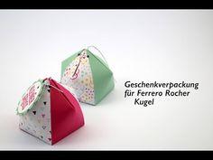 Geschenkverpackung für Ferrero Rocher **Origami** DIY** Tutorial - YouTube
