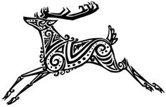 tribal stag