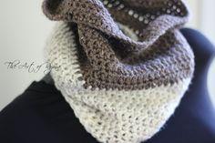 """""""The Yvette"""" Crochet Cowl"""