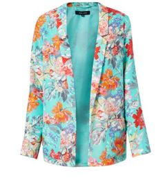 Team your summer pastels with this floral blazer from New Look, only £20.99