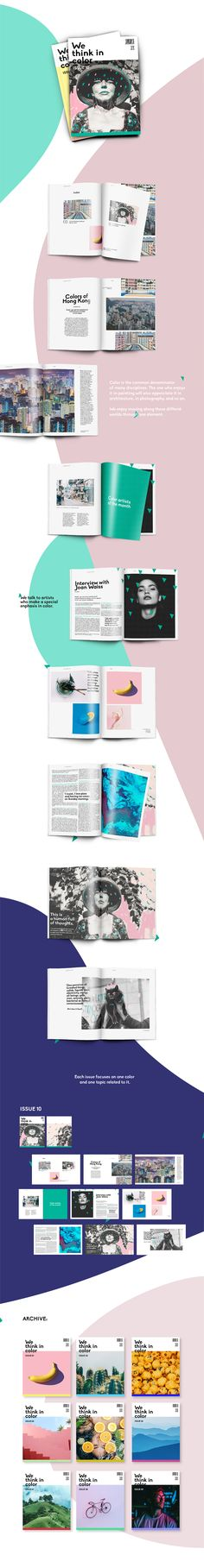 "Echa un vistazo a mi proyecto @Behance: ""We Think in Color zine - Editorial workshop with Rifle"" https://www.behance.net/gallery/58374813/We-Think-in-Color-zine-Editorial-workshop-with-Rifle"