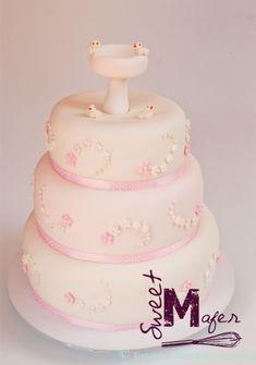 Resultado de imagen para tortas de bautizo para niña Cupcakes, Ideas Decoración, Ideas Para, Creative, Desserts, Food, Jazz, Children, Movies