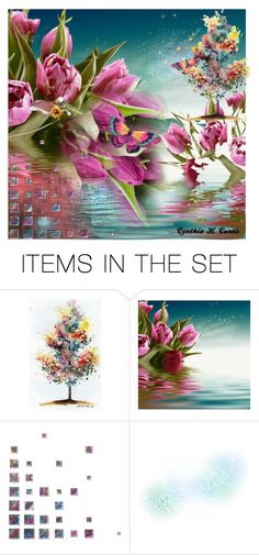 """""""Untitled #1546"""" by cynthiahcurtis ❤ liked on Polyvore featuring art"""