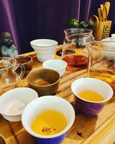 I'll wash all the cups tonight I promise! #teacup #teatable #tealover