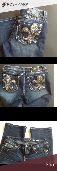 Miss Me Signature-Rise Boot Cut EUC Miss Me jeans. Inseam is 31. EUC .. Miss Me Jeans Boot Cut