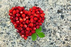 Wild strawberry heart by Mariann Rea on 500px