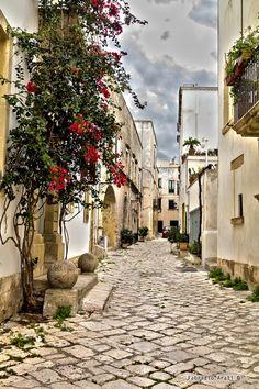 Street in Otranto - Italy