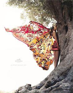 Hermes s/s 2012 - Bette Franke by Nathaniel Goldberg