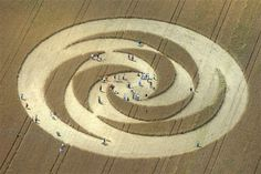new hypothesis on crop circles