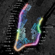 The Big U is a protective system around Manhattan in New York City, designed by Bjarke Ingels Group, driven by the needs and concerns of its communities. S