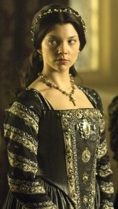 Anne Boleyn was by far my favorite female character on The Tudors. (Natalie Dormer) I was soooo sad to see her go, but alas, tis history.