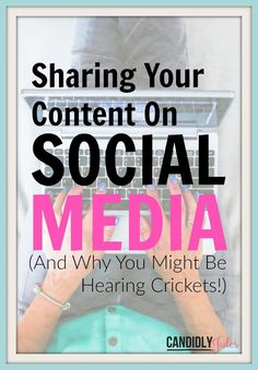Sharing Your Content On Social Media (And Why You Might Be Hearing Crickets!) Use this FREE TOOL + WORKSHEET to ramp up your social media presence and connect with your ideal audience now!