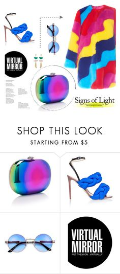 """""""color it"""" by lisannevicious ❤ liked on Polyvore featuring Mira Mikati, Jeffrey Levinson, Marco de Vincenzo, Ray-Ban and Isabel Marant"""