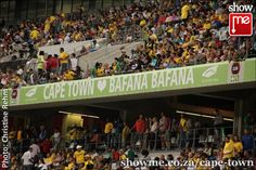 Bafana Bafana against Norway at the Cape Town Stadium Cape Town, Norway, South Africa, Soccer, Public, African, Reading, Travel, Futbol