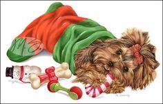 --Yorkshire Terrier - Stocking Stuffer
