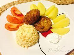Obrázek z Recept - Zelné karbanátky s bramborem a zeleným salátem by Romča