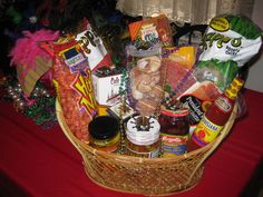 New Orleans themed gift basket. Including: Louisiana hot sauce ...