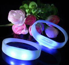Motion Activated Silicone LED Bracelet - Shenzhen Greatfavonian Electronic CO., LTD.