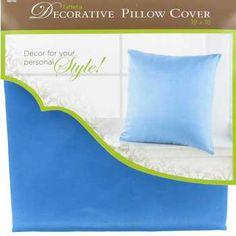 "18"" x 18"" Taffeta Pillow Cover"