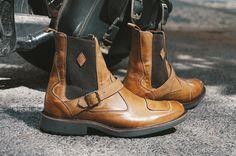 Chelsea Boots Evil K Black Boots x Machina Caramelo